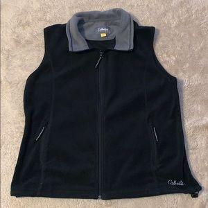 Cabela's Black & Gray Vest Size Xtra Large